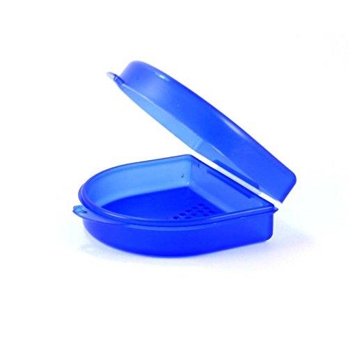 Dr. Bauers Zahnspangenbox - KFO-Dose klein 2,7cm (blau)