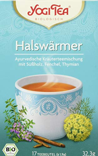 Yogi Tea Halswaermer Tee Bio (1 x 32,3 g)