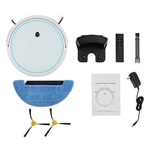 Buy Sugoyi Robotic Vacuum Cleaner, Auto Cleaner Robot Microfiber Dust Machine Smart Robotic Mop Dust...