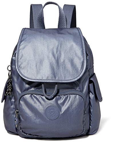 Kipling Women's City Pack Mini Backpacks, Midnight Frost, 14x27x29 cm