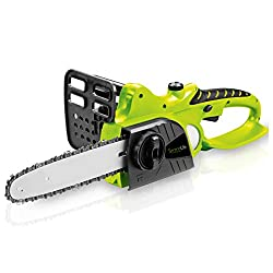 SereneLife Cordless Chainsaw - 18V Electric Home Garden Chain-Saw