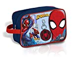 Spiderman Neceser baño Colonia Fragancia EDT 90Ml, Colgante & Gel 300Ml de Neceser, 40 cm, Multicolor
