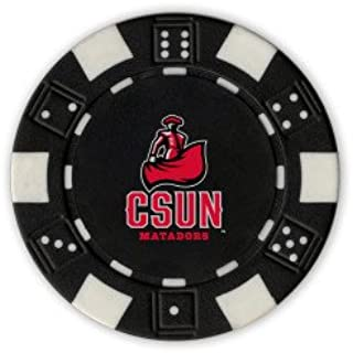 CollegeFanGear Cal State Northridge Black Game Chip 'CSUN Matador'