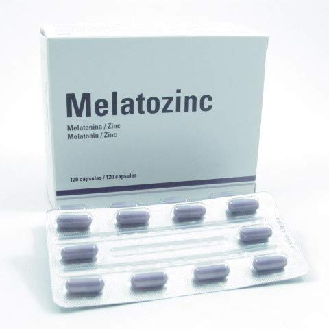Melatozinc Melatozinc 1/10Mg 120 Cap 100 g