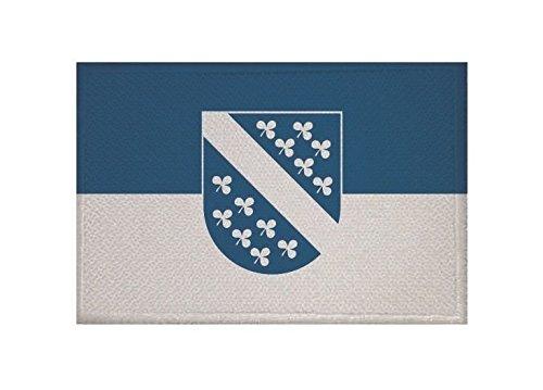 U24 Aufnäher Kassel Fahne Flagge Aufbügler Patch 9 x 6 cm
