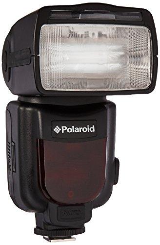 Polaroid PL-190C GN54 Flash rebotado y giratorio inalámbrico TTL de zoom motorizado con pantalla LCD para las cámaras digitales SLR Canon Digital EOS M, Rebel SL1 (100D), T5i (700D), T4i (650D), T3 (1100D), T3i (600D), T1i (500D), T2i (550D), XSI (450D), XS (1000D), XTI (400D), XT (350D), 1D C, 6D, 60D, 60Da, 70D, 50D, 40D, 30D, 20D, 10D, 5D, 1D X, 1D, 5D Mark 2, 5D Mark 3, 7D, G1 X, G15, G12, G11, G10, G9 y SX50 Flash rebotado y giratorio