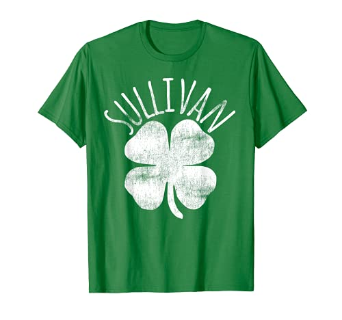 Sullivan - Trébol irlandés para regalo familiar Camiseta