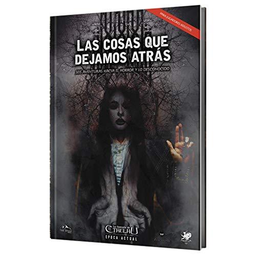 Hills Press Las Cosas Que dejamos atrás - suplemento Oficial para La Llamada de Cthulhu 7ª Edición, HPLCQDA