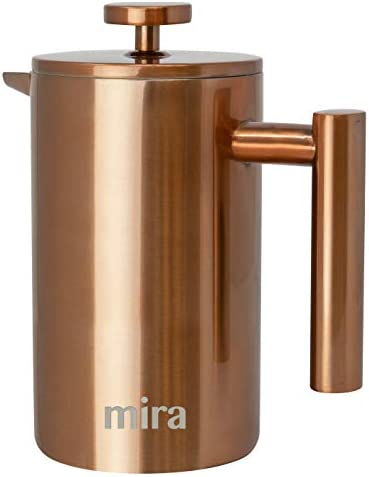 MIRA 20 oz Stainless Steel French Press Coffee Maker Double Walled Insulated Coffee Tea Brewer product image