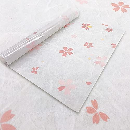 Icke-självhäftande fönsterfilm privat fläckat glasfilm, dekorativ statisk fastspänning färgglad frostat glas fönsterklistermärke för badrum duschdörr, anti-UV