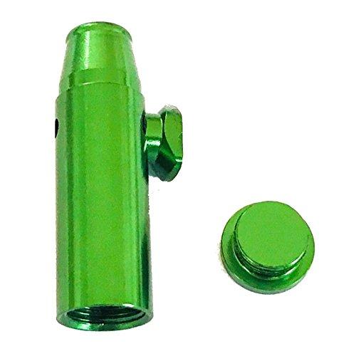 M&M Smartek Dosierer Portionierer sniff Snuff Bottle Sniffer Spender Schnupf Dispenser Metall Deutschland Farbe (Grün)