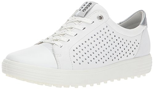 ECCO Damen Womens Golf Casual HYBRID Golfschuhe, Weiß (White), 37 EU