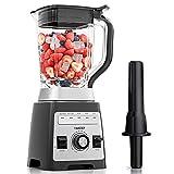 Mixer Smoothie Maker, YAKEEP Standmixer 2000W 2L Blender mit Rührstab, 27000 U/min...