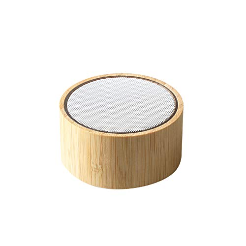 BLAUPUNKT MP3630-193 - Altavoz ecológico (bambú, Compatibl