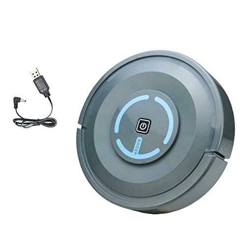 Smart Aspirateurs Smart Floor Cleaner Ultra-mince Robot Robot automatique Home Rechargeable Rechargeable Clean Machine Robot À L'usage (Couleur: Blanc) WANGHN (Color : Gray)