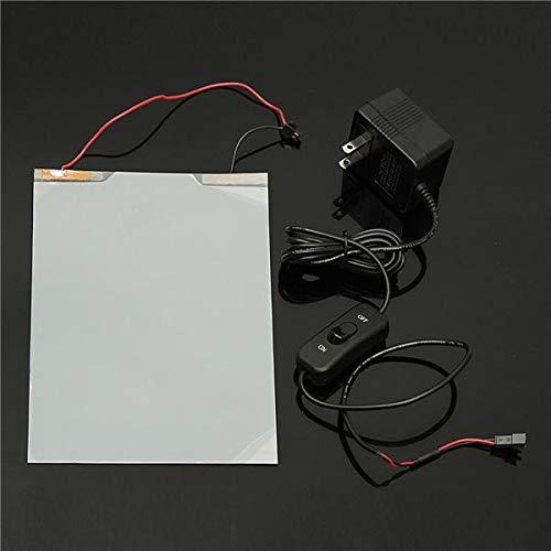Meijin Elektrische Ausrüstung 155 x 100 mm Smart PDLC Film Starter elektrisch schaltbare Tönungsfolie Fenster Glas Folie