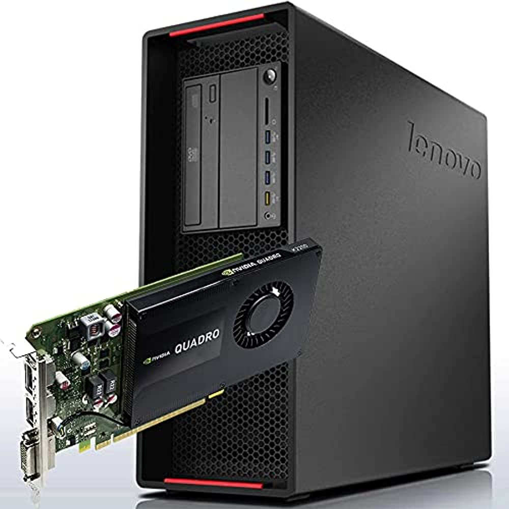 Lenovo pc fisso intel xeon e5-2609 workstation tower nvidia quadro k2200 32gb ram ssd 480gb piu` 1tb sata