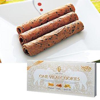 タイお土産 タイ ロールクッキー ONE VILAI COOKIES