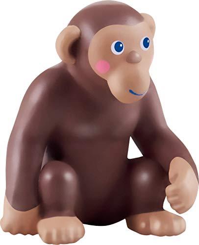 HABA 305592-Little Friends – AFFE, Spielfigur AB 3 Jahren Figura de Juguete, Color marrón (305592)