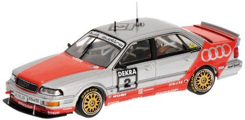 Minichamps 400921402 Modellino Auto Audi V8 Quattro Team Azr F. Jelinski DTM 1992 Auto da Gara Scala 1/43