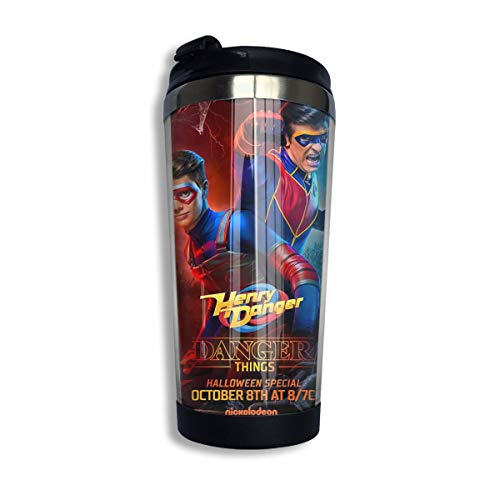Tazas Cafe Danger TV Show of Henry Coffee Cup Stainless Steel Water Bottle Cup Travel Mug Coffee...