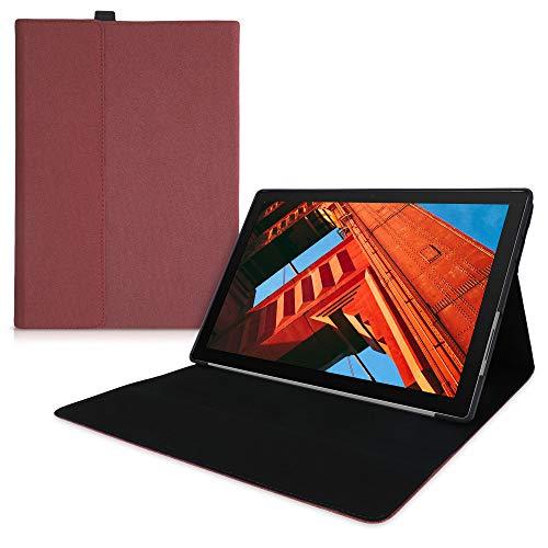 kwmobile Funda Compatible con Microsoft Surface Pro 7 - Cierre magnético para Type Cover - Carcasa Protectora para Tablet de Tela