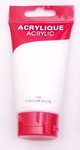 RE Magi colour acrílico 75 ml tube 710 Titan de acuarela blanco