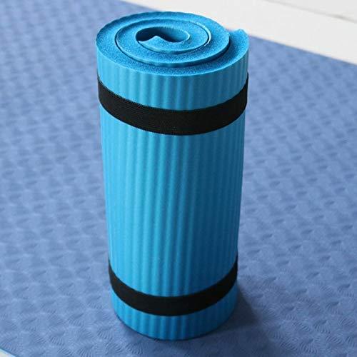 Yoga buik gezondheid teams fitness Yoga levenslang Mat Rad Pad elleboog vlakke oppervlak van de extra kussen in NBR geschreven Mats vriendelijke sport-fitness oefening,blauw