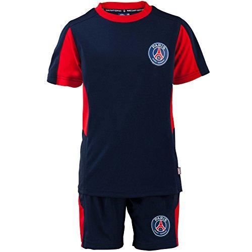 Shirt en broek PSG, officiële collectie van FC Paris Saint Germain - voetbalclub 1. Liga, kindermaat, voor jongens