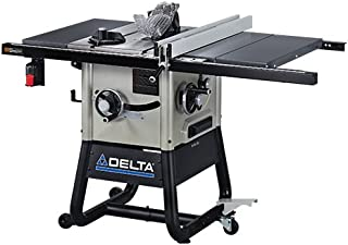 Delta 36-5000 10-Inch Left Tilt Contractor Saw with 30-Inch RH Rip (Steel Wings)