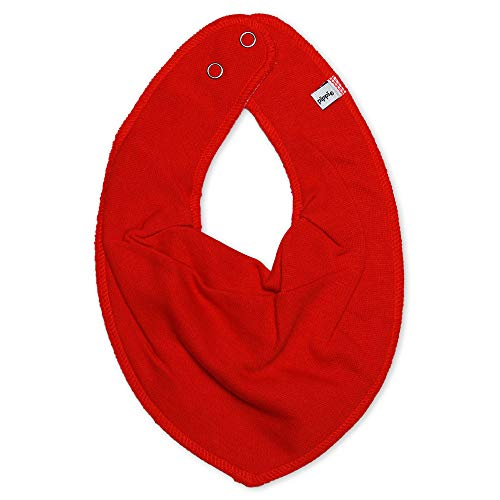 1402 Scarf bib -dribble tight -solid 410 Red