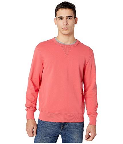 J.Crew Garment-Dyed French Terry Crewneck Sweatshirt Moroccan Red LG