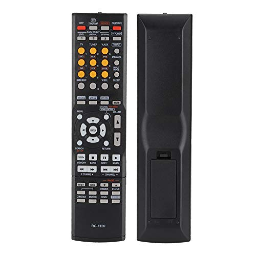 01 Cómodo Control Remoto, Control Remoto para Denon, para Denon AV Receiver Rc-1120 Avr-391 Avr-591 Avr-390 Smart TV