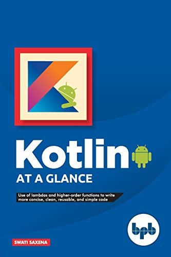 Kotlin At a Glance Front Cover