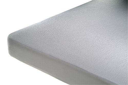 Cándo Penalba matrasbeschermer, 75% katoen, 25% polyester, wit, 135 x 190 cm