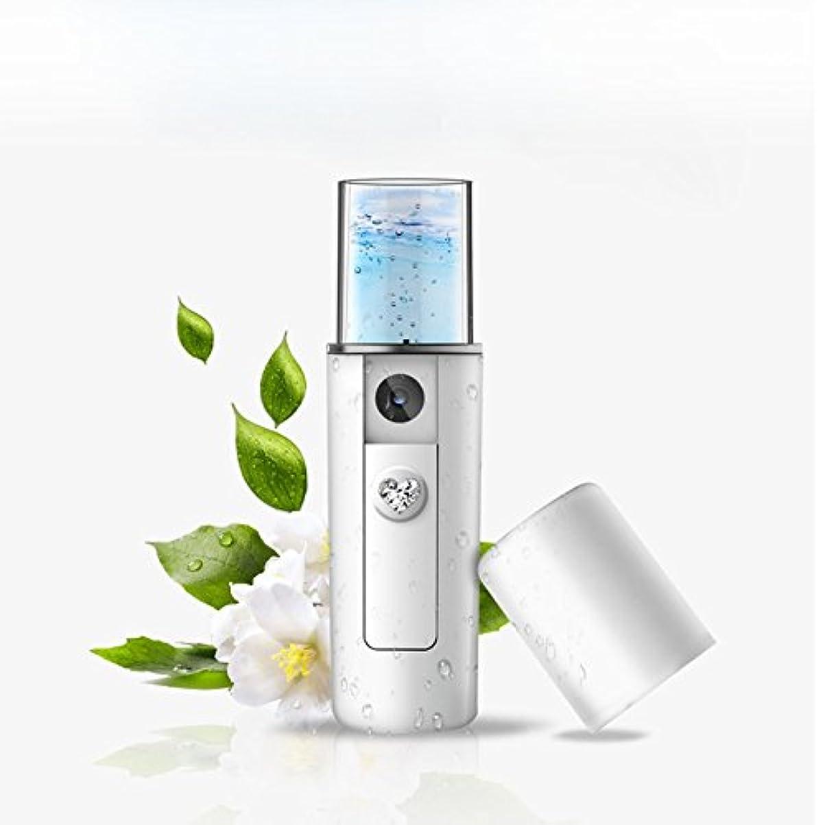降下海絶望Portable Nano Mist Sprayer Facial Body Nebulizer Steamer Moisturizing Skin Care Mini USB Face Spray Beauty Instruments ポータブルナノミストスプレーフェイシャルボディネブライザースチーマー保湿スキンケアミニusbフェイススプレー美容器具
