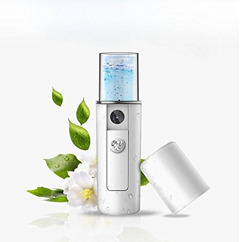 理容師しなければならない聖なるPortable Nano Mist Sprayer Facial Body Nebulizer Steamer Moisturizing Skin Care Mini USB Face Spray Beauty Instruments ポータブルナノミストスプレーフェイシャルボディネブライザースチーマー保湿スキンケアミニusbフェイススプレー美容器具
