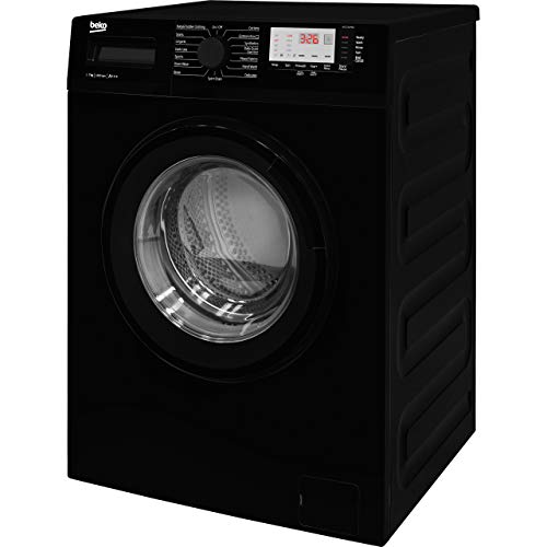 Beko WTG741M1B A+++ Rated 7kg 1400 Spin 15 Programmes Freestanding Washing Machine in Black