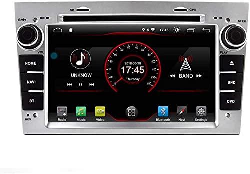 WJYCGFKJ Witson 7'Android 10 Radio de Coche para Opel Vauxhall Corsa 2006-2011 / Vectra Antara Meriva Astra Vivaro Zafira GPS de Coche Navegación por satélite Reproductor de DVD Multimedia Radio EST