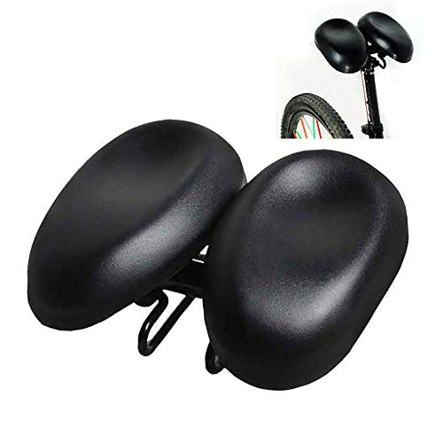 COKECO Professional Bike Seat,Bicycle Seat Mountain Bike Seat Comfortable No Nose Saddle Healthy Elbow Riding Seat Bicycle Accessories Adjustable Size Left and Right