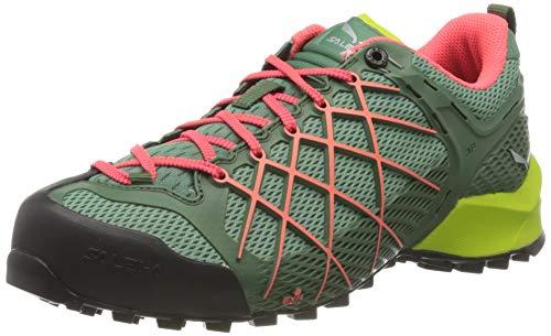 Salewa MS Mountain Trainer Leder, Chaussures de trekking et de randonnée Homme, Marron (Walnut/Golden Palm), 35 EU