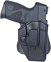 Tactical Scorpion Gear Modular Level II Retention Paddle Holster: Fits M&P S&W Bodyguard 380 with or Without Crimson Trace Integrated Laser
