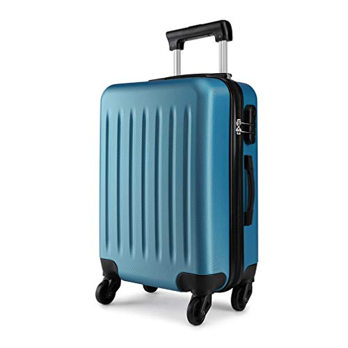 "Kono Light Weight Large 28"" Hard Shell Suitcase 4 Spinner Wheels ABS Luggage Travel Trolley Case (28', Navy)"