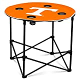 Logo Brands NCAA Tennessee Volunteers Round Table, One Size, Team Color