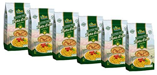 Pasta d´oro – Glutenfreie Nudeln (Conchiliette) aus Maismehl 12er Pack (12 x 500 g)