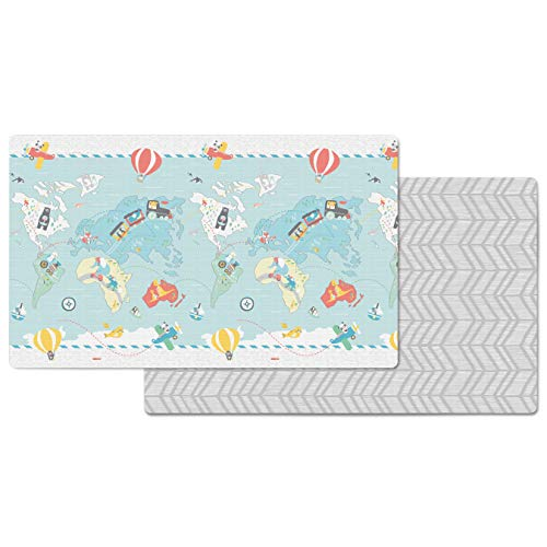Skip Hop Reversible Playmat-Little Travellers