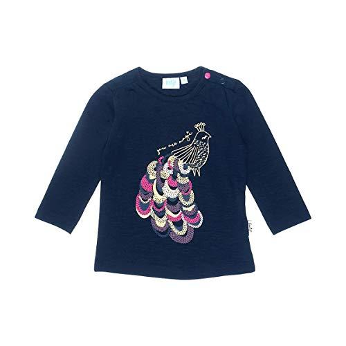 Feetje T-shirt à manches longues paon top bébé vêtements bébé, marine/multicolore