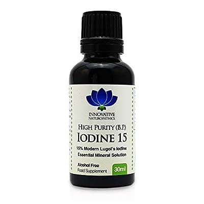 Iodine - 15% Lugols Iodine Solution - 30ml