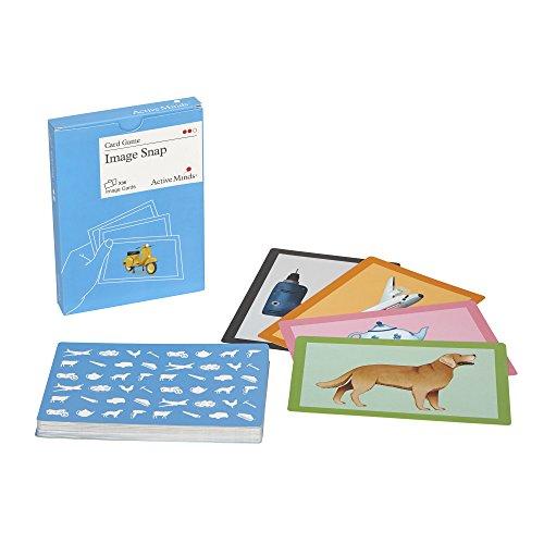Active Minds Bilder Schnipp-Schnapp: Kartenspiel zur Aktivierung von Senioren / Menschen mit Demenz/Alzheimer