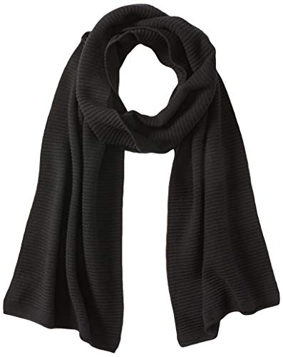 Sisley Scarf Sciarpa di Moda, 700 Nero, OS Donna